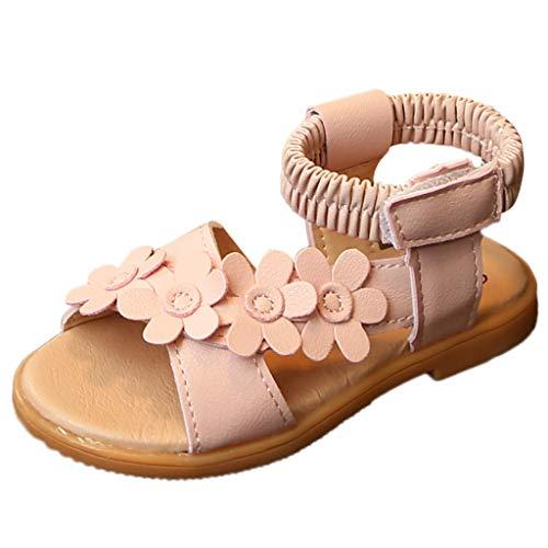 Heligen_Baby Shoes Baby Schuhe Kinderschuhe Schuhe für Kinder Kleinkind Baby Mädchen Kinder niedlichen Cartoon Katze Leder einzelne Schuhe Prinzessin Schuhe (22.5 EU, Rosa 4)