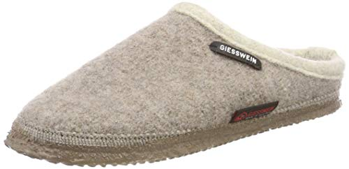 Giesswein Dannheim, Chaussons Mules Mixte Adulte, Taupe, 40 EU