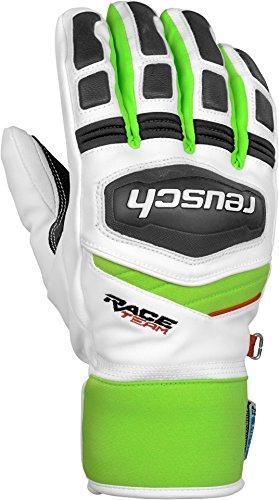 Reusch Training r-tex® xt Skihandschuhe ( white - neon green ), Gr. 11