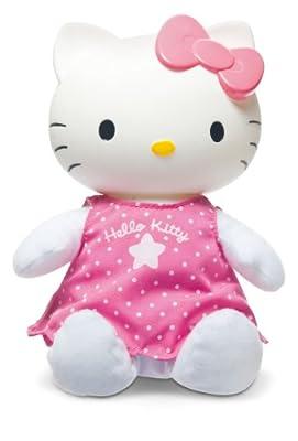 Peluche Hello Kitty Buenas Noches Con Luz Y Musica 24X30X13 Pilas 43-310001