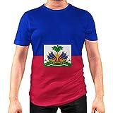 Idakoos Haiti - T-Shirt 3D Homme Polyester Nouveauté L
