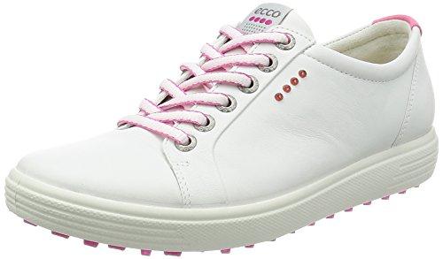 ECCO Womens Golf Casual Hybrid Scarpe da Golf, Donna, Bianco, 38 EU