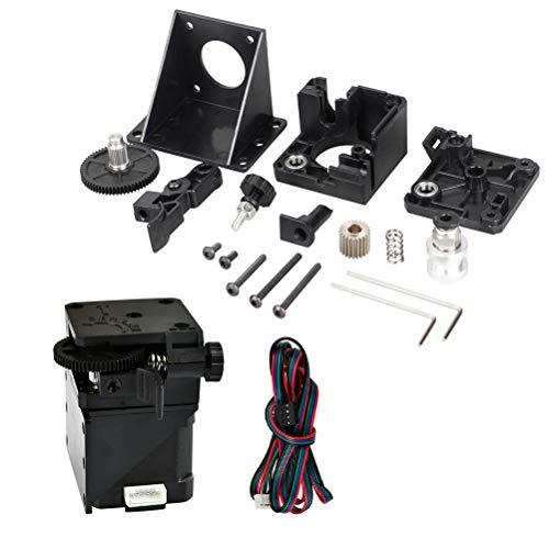 YOTINO Impresora 3D E3D-V6 Extrusora para Titan Remote + 4401S Motorset, Kits de impresora 3D, Kits ensamblados de extrusora de actualización 1.75mm MK8 Universal