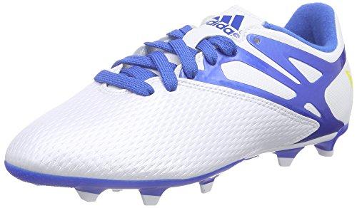 sale retailer 413a2 17fd7 adidas Performance Messi15.3 FGAG, Jungen Fußballschuhe, Weiß (FTWR White