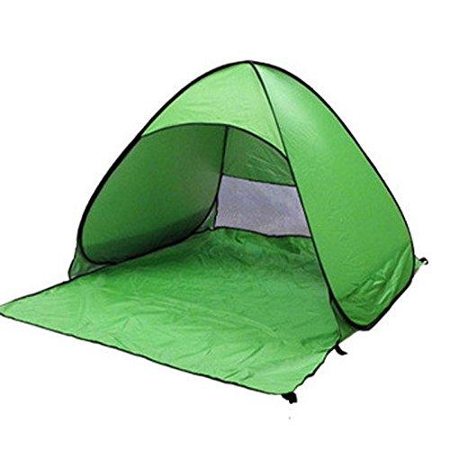 Niocase Zelt im Freien, kampierendes Zelt, Freienspiel-Zelt-tragbares faltendes Wasserdichtes im Freienzelt für Das Wandern, Das für Doppelte Personen, Grün