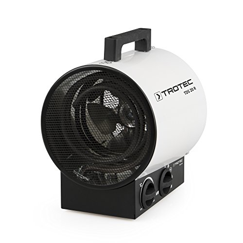 TROTEC TDS 20 R Elektroheizer, Bauheizer mit 3 kW mit 3 Heizstufen