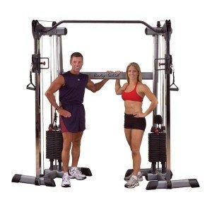 Body-Solid Functional Training Center / Multi-Kabelzug GDCC-200 (2 x 95kg Gewichtspaket)
