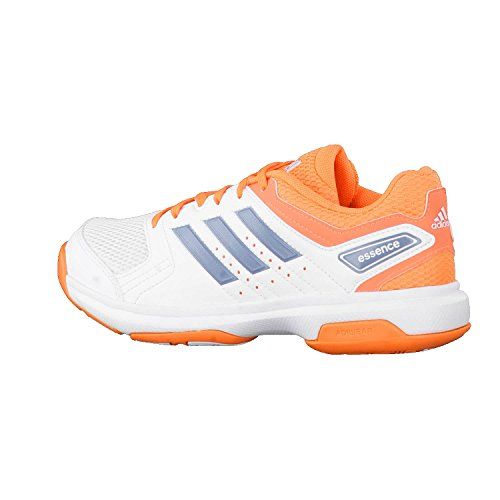 great deals 2017 cheap price cheap sale adidas Essence W, Chaussures de Handball Femme, Blanc/Gris/Orange ...