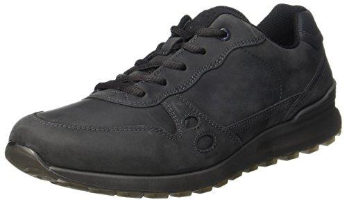 Ecco Herren CS14 Men's Sneaker, Grau (Moonless/Black), 43 EU