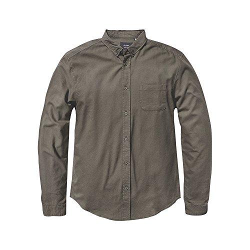 Camicia Maniche Lunghe Globe - Goodstock Oxford verde formato: L (Large)