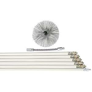 Progalva - Kit de ramonage CANNAUTO diametre : 20 Lg : 2 m 801586