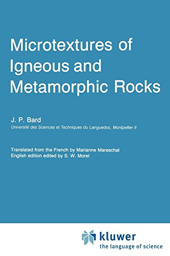 Microtextures of Igneous and Metamorphic Rocks PDF Books