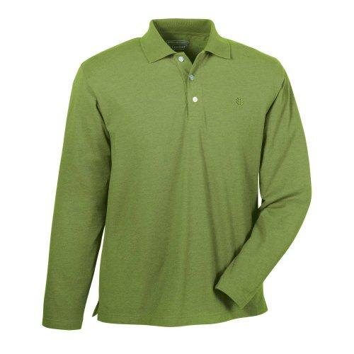 Coolibar Herren Schutzfaktor 50+ Sport Uv Polo Palm Green