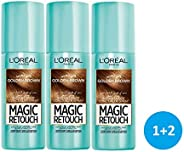 L'Oreal Paris Magic Retouch 3 Seconds to Flawless Roots (Golden Brown) 3 pi