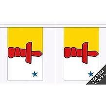 Ulster TISCHFAHNE 14 x 21 cm flaggen AZ FLAG TISCHFLAGGE Provinz Ulster 21x14cm