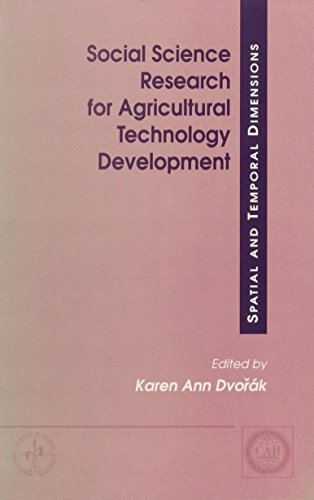 Social Science Research for Agricultural Technology Development (Cabi Publishing)
