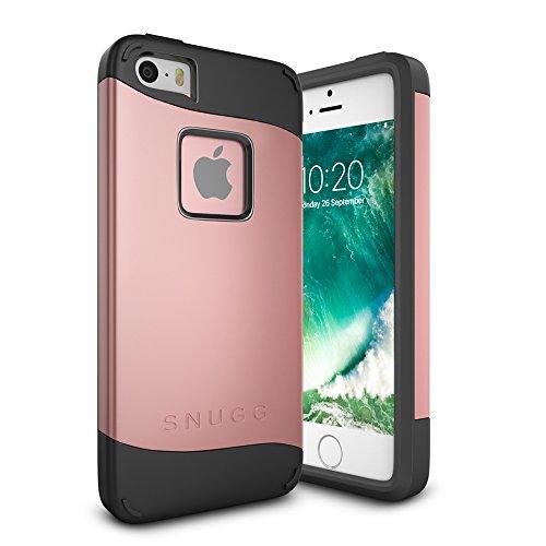 funda-iphone-se-snugg-apple-iphone-se-case-slim-carcasa-de-doble-capa-infinity-series-revestimiento-
