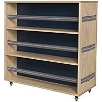 suchergebnis auf f r schuhschrank industrial. Black Bedroom Furniture Sets. Home Design Ideas