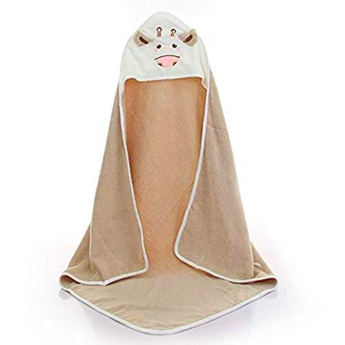 Ice Säuglingsbabybabybaumwolltuchkarikatur mit Kapuze Baumwollkindsteppdecke ist weich und verblasst Nicht Baumwollspielanzugkinder -