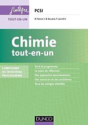 Chimie tout-en-un PCSI - 3e éd. - Conforme au nouveau programme