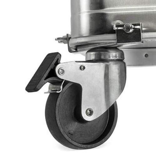 Enders Aluminiumbox TRANSPORTROLLEN-SET mit Feststeller, 3585
