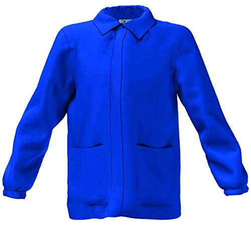 Siggi grembiule casacca scuola elementare bambino bluette (8 anni - 128 cm)