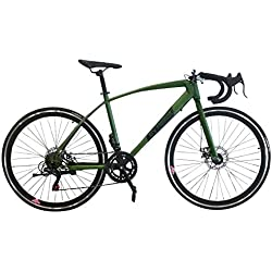 Helliot Bikes Ruzafa 02 Bicicleta de Carretera Urbana, Adultos Unisex, Verde, Talla única