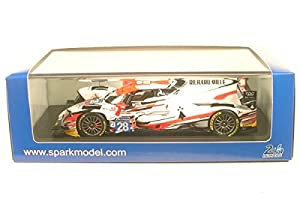 SPARK-Oreca-07Gibson LMP2-Le Mans 2017Coche de ferrocarril de Collection, S5815, Color Blanco/Naranja/Negro