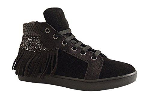 Reqins ,  Sneaker donna Nero