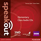 Speakout Elementary 2nd Edition Class CDs (3)