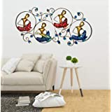 MAPLE CRAFT Metal Wall Mounted Hanging(Multicolor_30 X 14 Inch)
