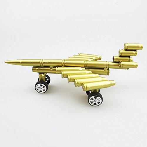 Military Sammler Flugzeug Modell Bullet Shell Gehäuse Geformte Handgemachte Metall Artwork Home Living/Study Room Dekorationen Geschenk Kinder Modell Spielzeug -