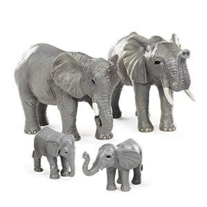Battat Terra by AN2727Z- Juego Familiar de Elefante Africano