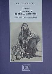 Altri Studi Di Storia Orientale (Legale)