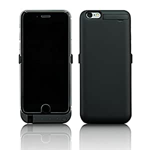 PowerBear® Samsung Galaxy S7 Edge Battery Case [5,000 mAh] High Capacity External Battery Charger for the Galaxy S7 Edge (Up to 1.5X Extra Battery) Black [24 Month Warranty] - NOT FOR THE GALAXY S7