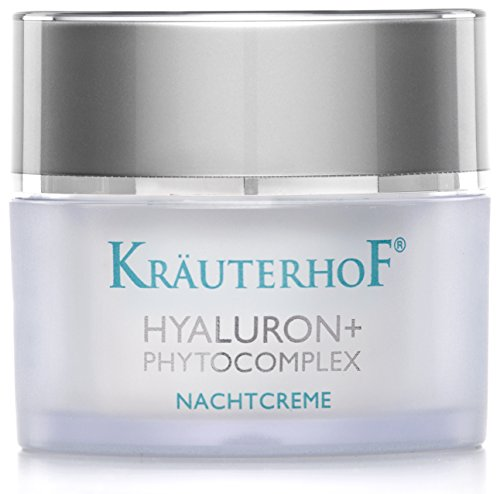Nachtcreme Kräuterhof 50ml Gesichtspflege Frauen Männer Hyaluronsäure Made in Germany Testurteil...