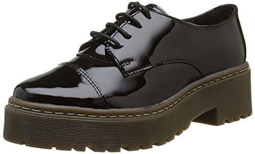Shoe Biz Barea, Scarpe Oxford Donna, Nero (Hologram Black), 39 EU