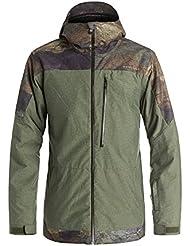Quiksilver Snow Jacket, invierno, hombre, color Varios colores - multicolor, tamaño L