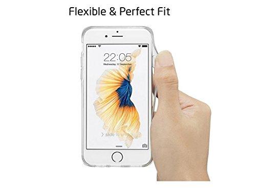iPhone 5/5s/SE hülle vanki® Tasten Strand Schutzhülle Clear Case Cover Bumper TPU Silikon Durchsichtig Handyhülle für iPhone 5/5s/SE (color1) Maple tree
