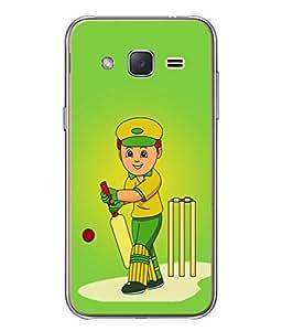 Fuson Designer Back Case Cover for Samsung Galaxy J3 2015 (Football Basketball Cricket Sportsman sports person)