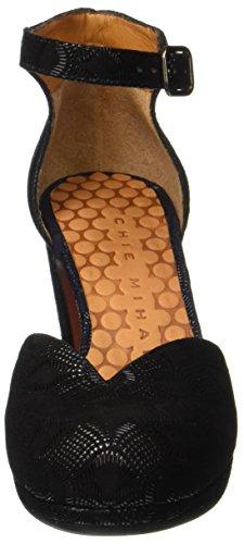 Chie Mihara Maho31, Chaussures À Sangle Femme Noir (noir)