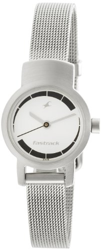 Fastrack Upgrade-Core Analog White Dial Women's Watch - NE2298SM01 image