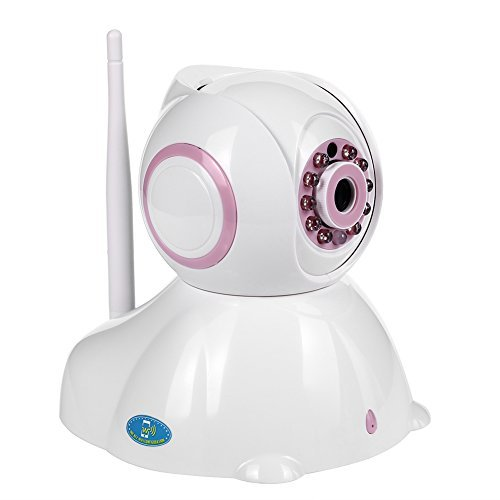 nexgadget IP Kamera HD WiFi Remote-Überwachung Sicherheit Innen Erkennung Bewegung Nachtsicht Anzeige Alarm P2P Pan Tilt Kompatibel mit iOS und Android (Starten Sie Auto-remote)