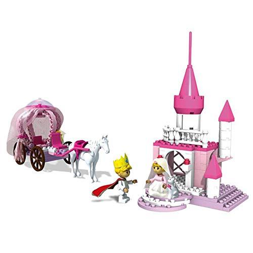 HLKYB Schloss Bausteine   Spielzeug, 175 Stücke von großen Partikeln in die Prinzessin Burg BAU Spaß Spielzeug für Kinder ab 3 Jahren geschrieben - 175 Stück Kit