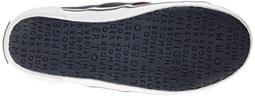 Tommy Hilfiger S3285LATER 1D-1, Sneakers basses mixte enfant Bleu (403)