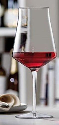 Grangusto Cristal Verre à vin rouge 510 ml Cristal sans plomb