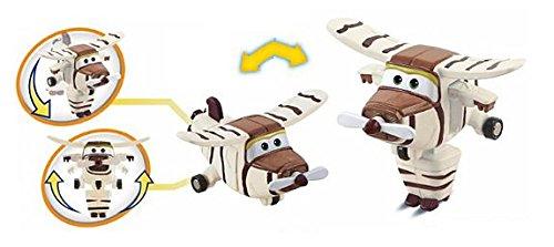 Bello Jett, Aereo Robot Personaggio Trasformabile Articolato, Alto 5 cm