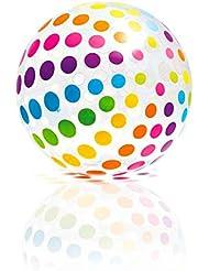 Intex 01005 Ballon Gonflable Géant Multicolore Diamètre 107 cm