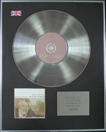 Kenny Rogers-Limitata Edizione CD platinum disc-Love Songs