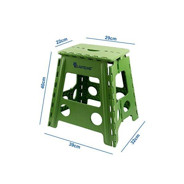 Sgabelli Pieghevoli In Plastica.28 90 Lantelme Sgabello Pieghevole Verdesgabello In Plastica